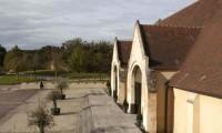 Terrasse bois Grange à Dîmes - Domaine de la Baronnie