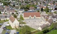 Vue aérienne - Domaine de la Baronnie
