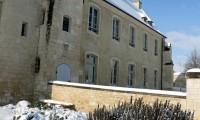 Jardin des simples - Baronnie sous la neige