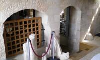 Entrée accès cellier - Manoir