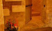 Accès excalier Manoir - Cellier du Manoir