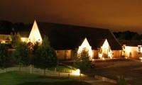 Vue de nuit - Grange à Dîmes