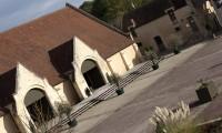 Vue depuis Manoir - Grange à Dîmes