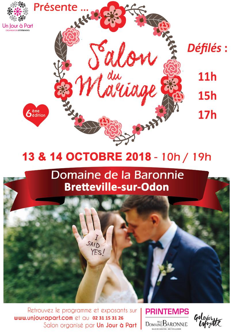 Salon du Mariage 2018 - Domaine de la Baronnie