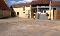 Entrée petit portail - Domaine de la Baronnie