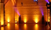 Salle mise en scène lumières - Grange à Dîmes