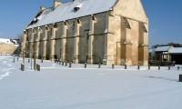 Manoir - Baronnie sous la neige