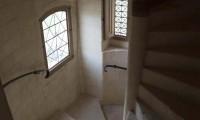 Escalier vue plongeante - Manoir