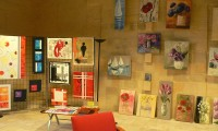 Peintures salle d'exposition - Manoir