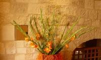 Composition florale entrée - Manoir
