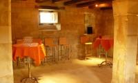 Tables pour cocktail - Cellier du Manoir