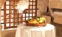 Décoration, corbeille à fruits - Cellier du Manoir