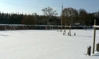 Parking - Baronnie sous la neige