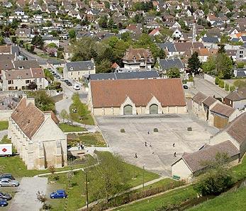 Domaine de la Baronnie - Photo aérienne